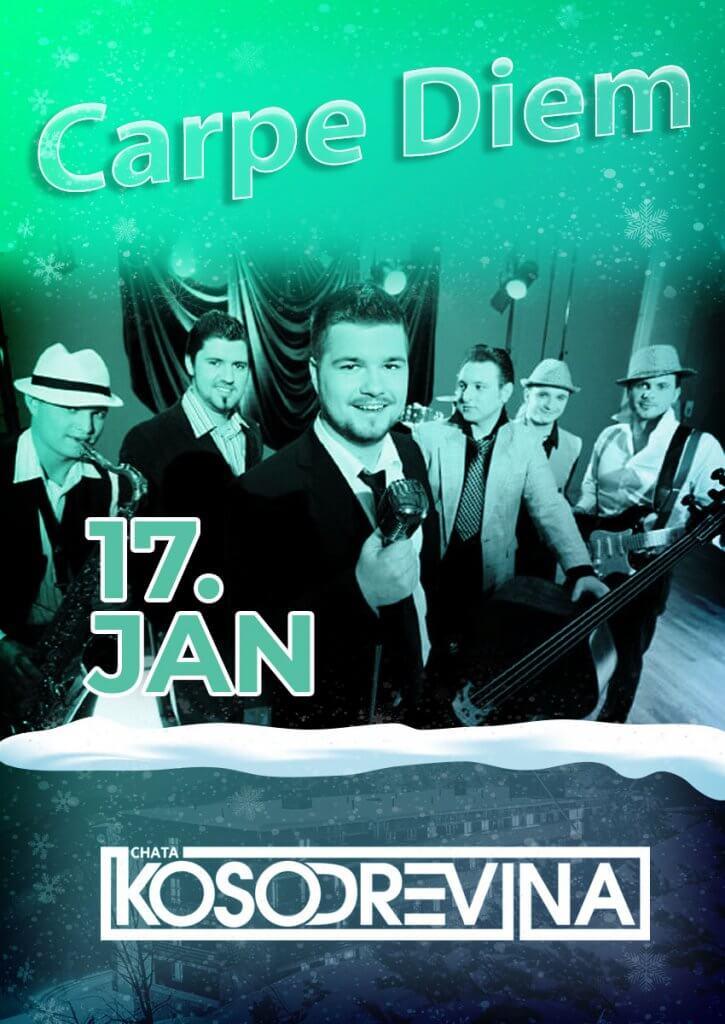 Koncert chata kosodrevina Chopok Jasna Carpe Diem Band