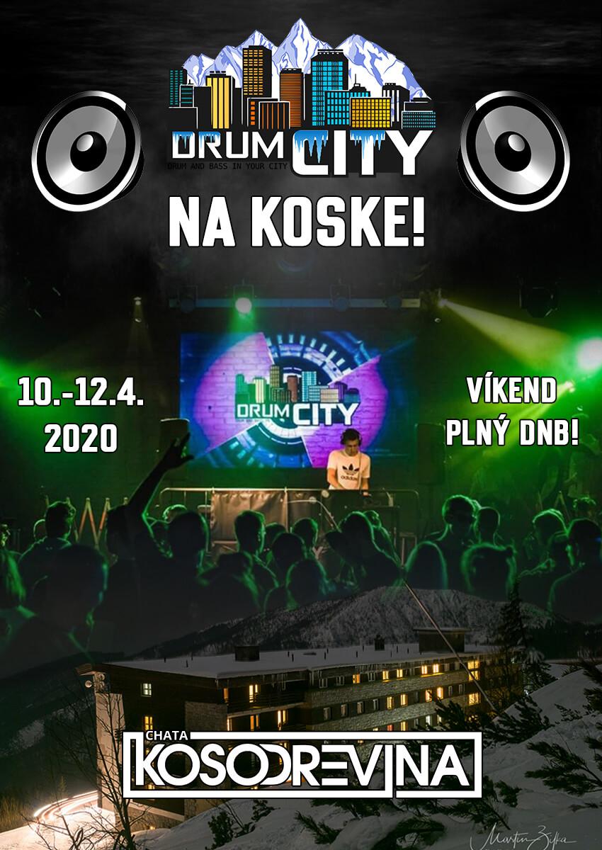 chata koska drumcity drum n base dnb deejay dj chata kosodrevina Chopok Jasna
