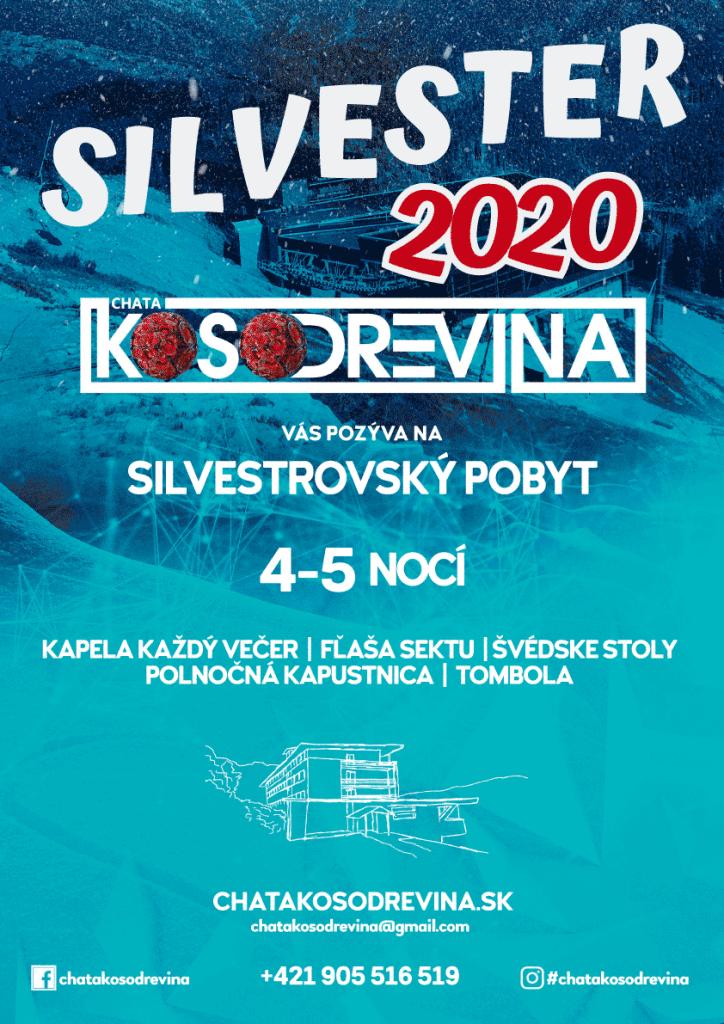 Silvester 2020 pre deti 4 az 6 december ubytovanie Jasna Chopok Chata Kosodrevina