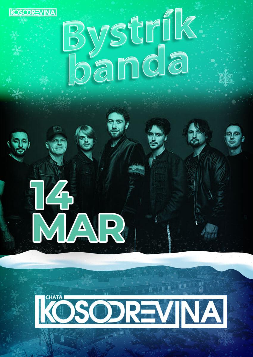 Koncert Bystrik banda chata Kosodrevina Chopok Jasna marec na Koške