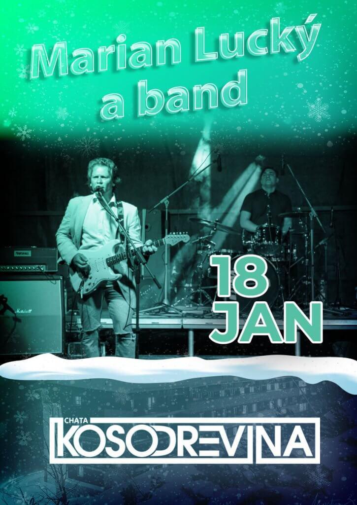 Koncert Marian Lucky hotel Chata Kosodrevina Chopok februar na koske